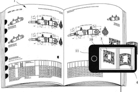 Bei der aktuellen Patentanmeldung geht um das Herunterladen digitaler Engineering Daten zur Konstruktion und dem Bestellen der Komponente aus einem Papierkatalog. Mit dem patentierten Verfahren von CADENAS wird die Lücke zwischen Print und Digital mühelos geschlossen.